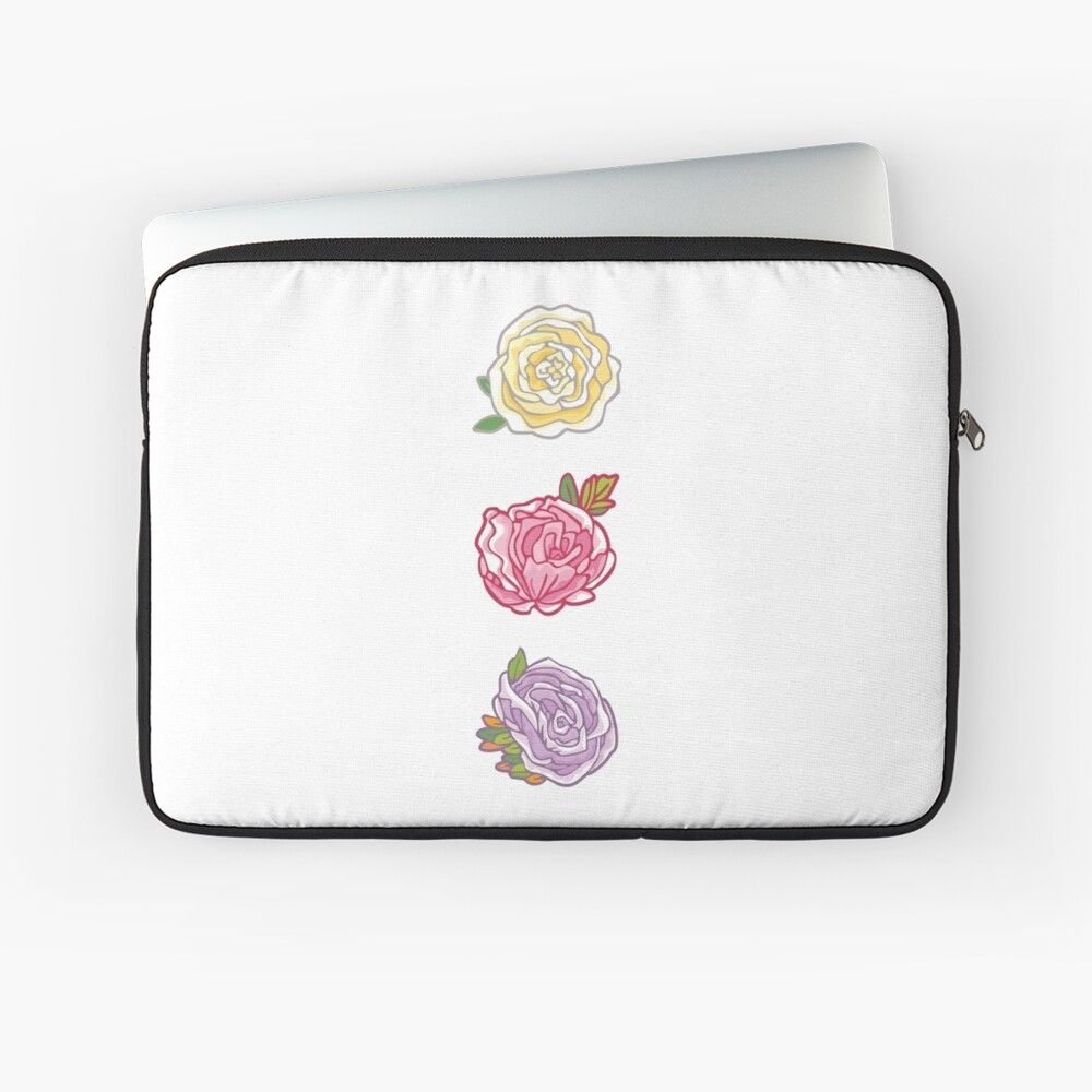 Decorative Roses Laptop Sleeve