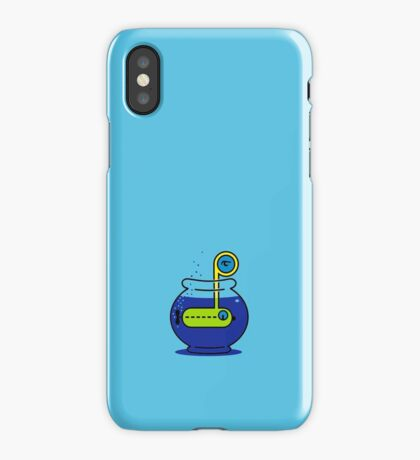 Yellow Submarine in a Bowl VRS2 iPhone Case