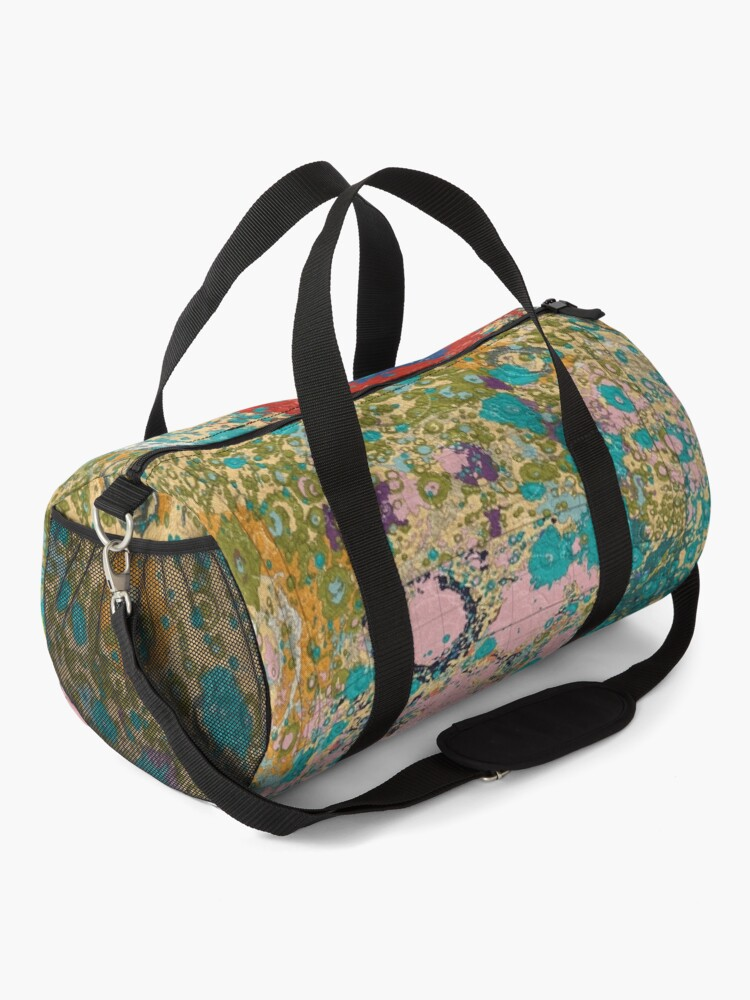 Alternate view of Geology of the Moon Duffle Bag