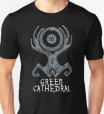 Green Cathedral T-Shirt Design Unisex T-Shirt