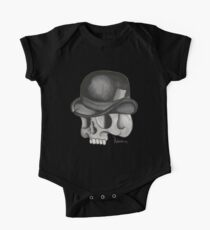 Bowler Skull One Piece - Short Sleeve