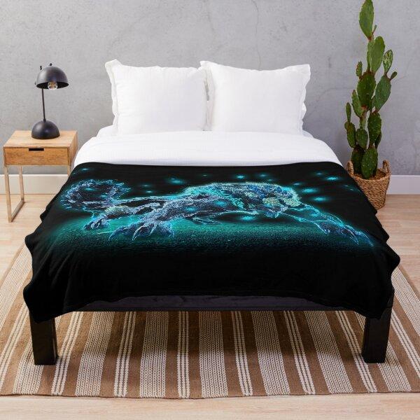Neon Zinogre Subspecies MHW 2 [FREE COLOR] Throw Blanket