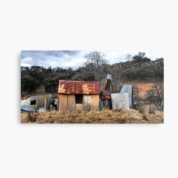 KEEP OUT!!  Hill End NSW Australia Metal Print