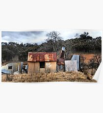 KEEP OUT!!  Hill End NSW Australia Poster