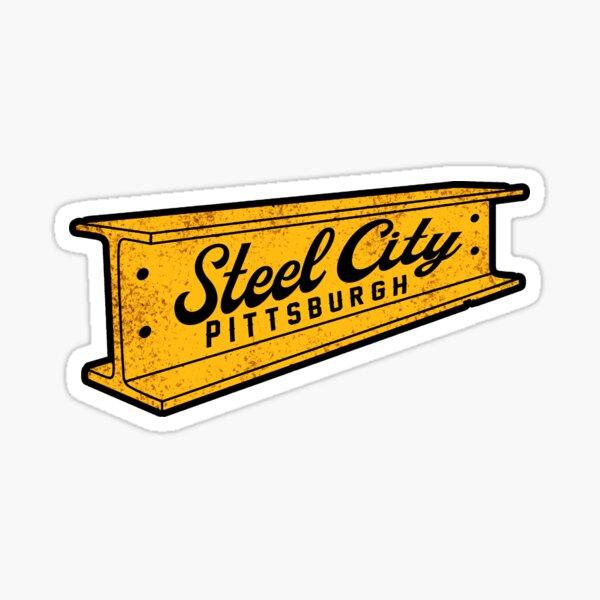 steel city pittsburgh sticker  Sticker