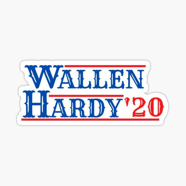 Wallen and Hardy 2020 Sticker