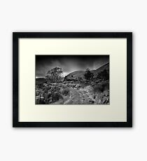 Black Valley Cottage-Kerry Ireland Framed Print