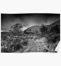 Black Valley Cottage-Kerry Ireland Poster