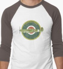 RAF MKII Spitfire Vintage Look Fighter Aircraft T-Shirt
