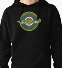 RAF MKII Spitfire Vintage Look Fighter Aircraft Pullover Hoodie