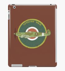 RAF MKII Spitfire Vintage Look Fighter Aircraft iPad Case/Skin