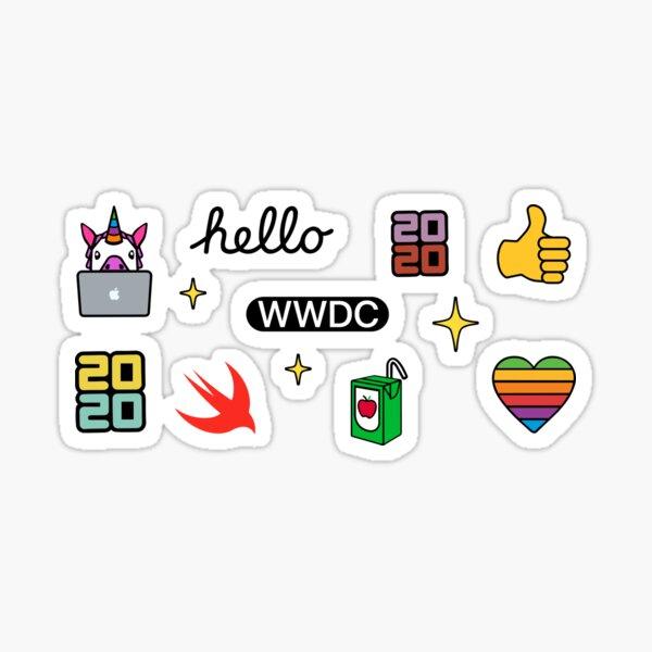 WWDC 2020 Sticker Pack Sticker