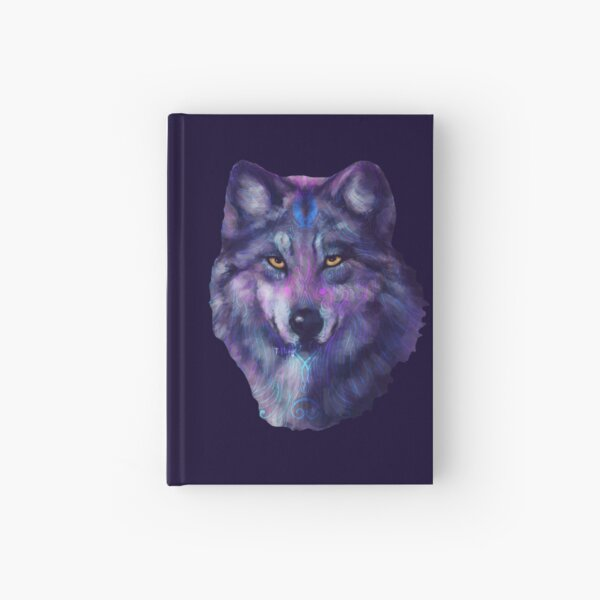 Spirit Wolf Hardcover Journal