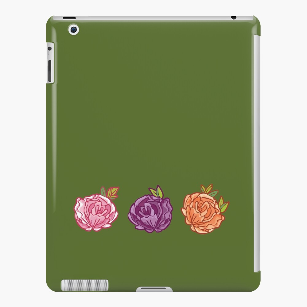 Decorative Roses iPad Case & Skin