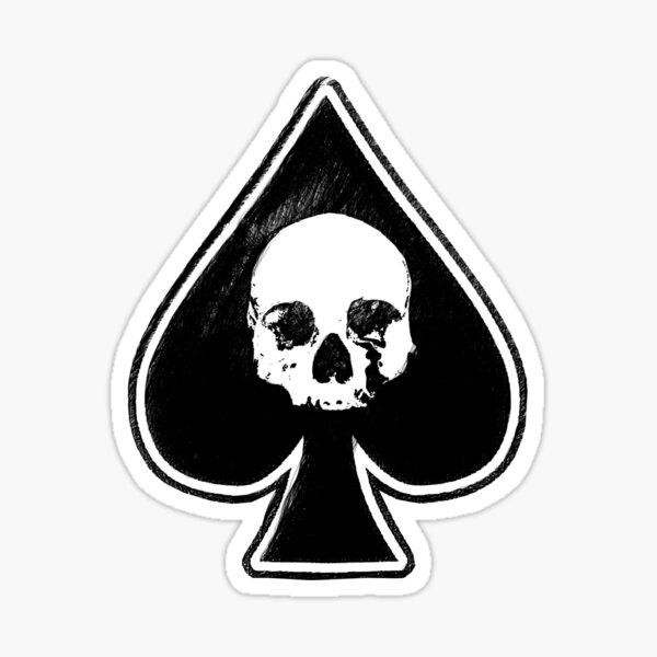 Ace Of Spades T-shirt en métal lourd Rock Motorhead Sticker