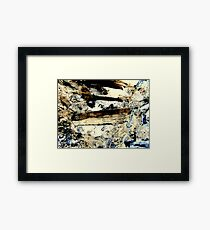 earth and sky Framed Print