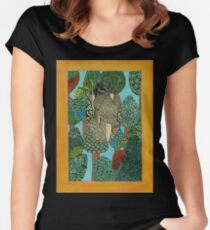 Trees - The Qalam Series Women's Fitted Scoop T-Shirt