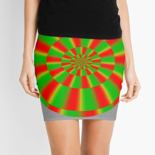Color-dependent motion illusions in stationary images and their phenomenal dimorphism  Mini Skirt