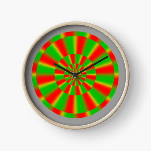 Color-dependent motion illusions in stationary images and their phenomenal dimorphism  Clock