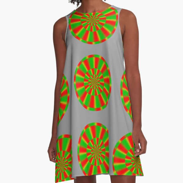 Color-dependent motion illusions in stationary images and their phenomenal dimorphism  A-Line Dress