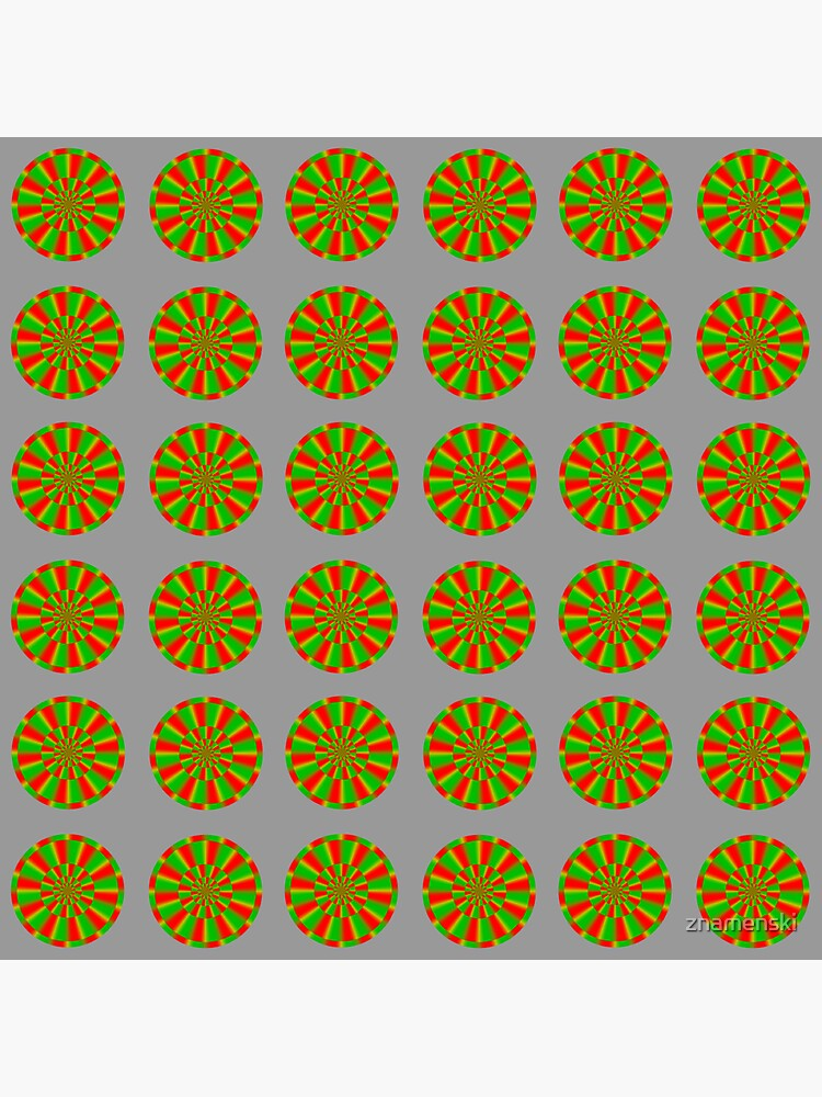 Color-dependent motion illusions in stationary images and their phenomenal dimorphism  by znamenski