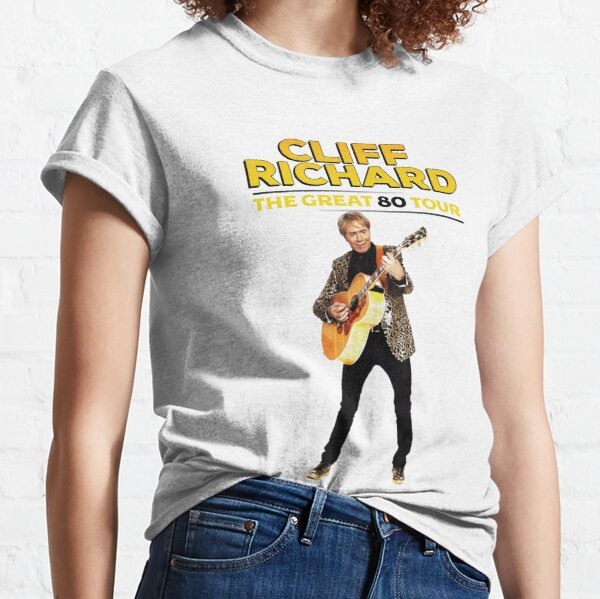 Cliff Richard The Great 80 Tour 2020 2021 Classic T-Shirt