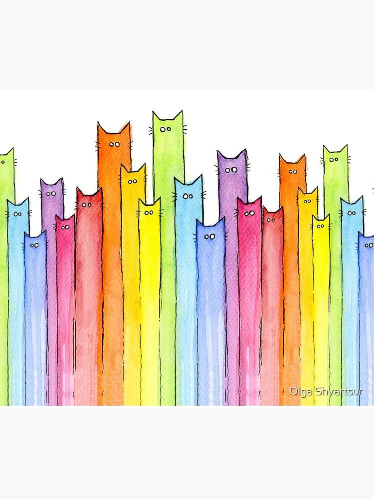 Rainbow of Cats by olga-shvartsur