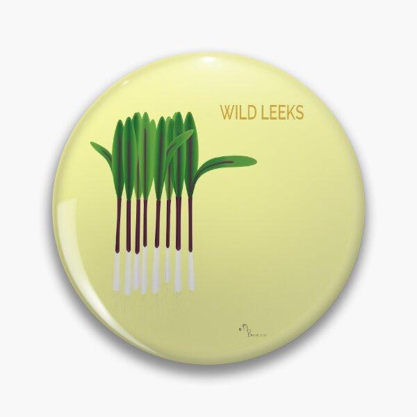 Wild Leeks Pin