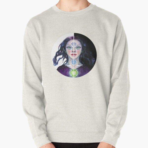 Seekers Eye the Green Eyed Seeress Pullover Sweatshirt