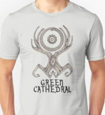 Green Cathedral Tee Design (for light colored shirts) Unisex T-Shirt