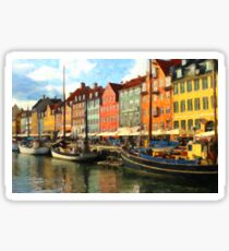 Copenhagen, Denmark Sticker
