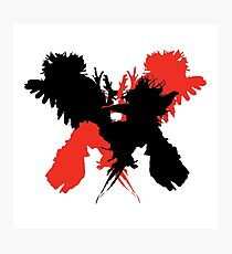Kings of Leon - Only By The Night (Silhouette) Photographic Print