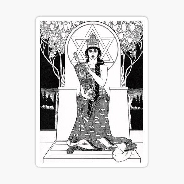 Queen of Shabbat Sticker
