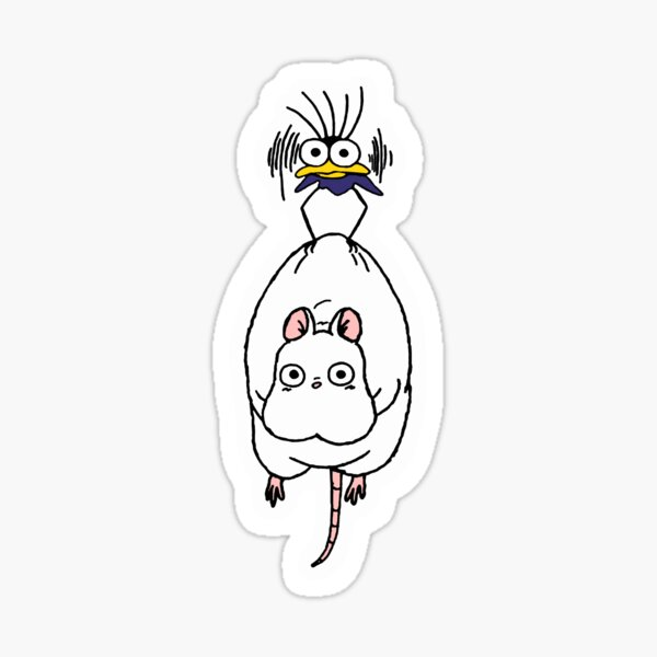 Spirited Away Stickers Redbubble