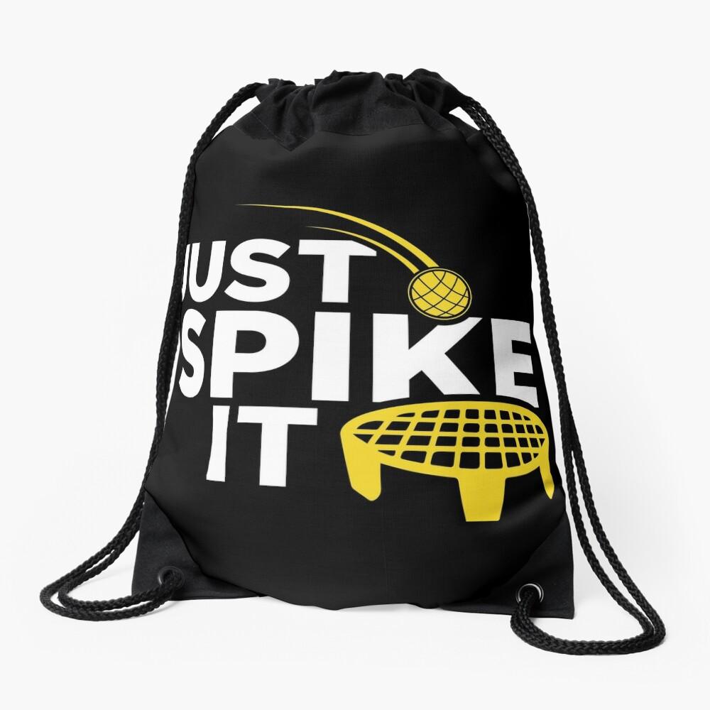 Just Spike It Drawstring Bag