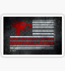 One Nation Under Surveillance - ihone & Laptop shell Sticker