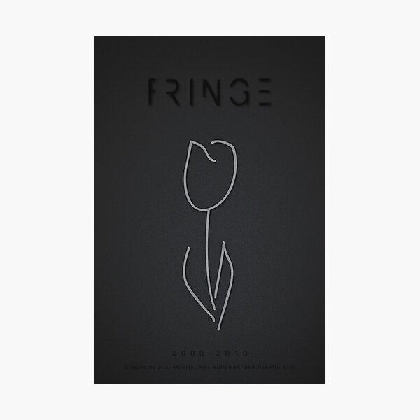 White Tulip (Fringe) Photographic Print