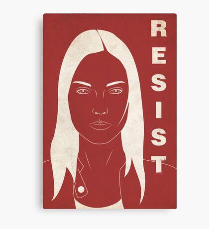 The Resistence (Fringe) Canvas Print