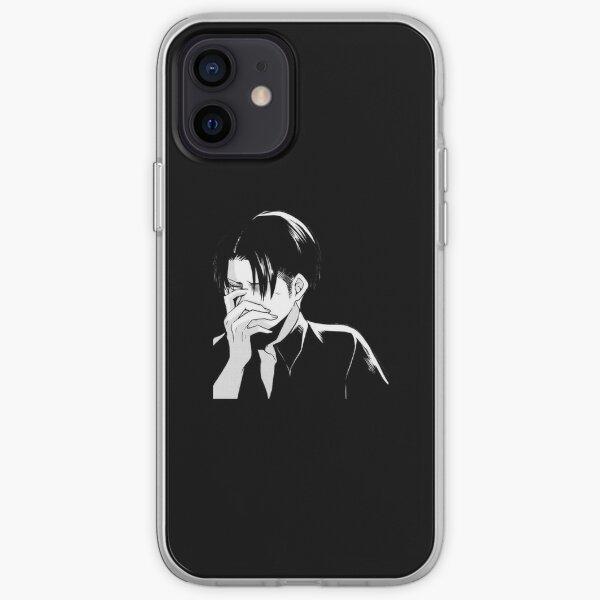 Levi (noir) Coque souple iPhone