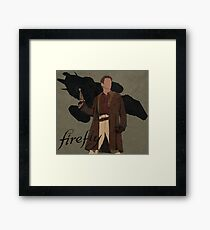 "Firefly ""Malcolm Reynolds"" Framed Print"