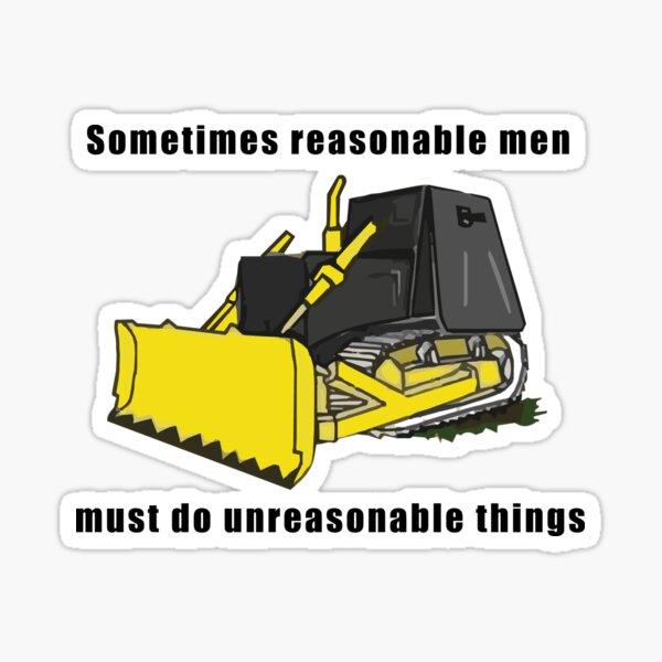 Killdozer - Vernünftige Männer Sticker