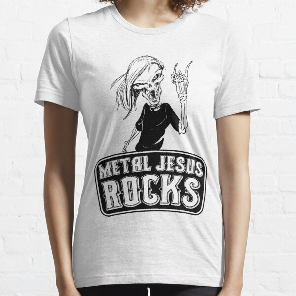 Metal Jesus RISEN Essential T-Shirt