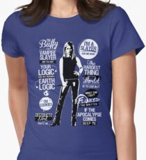Quotes of a Slayer  Women's Fitted T-Shirt