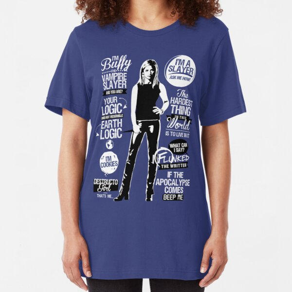 Quotes of a Slayer  Slim Fit T-Shirt