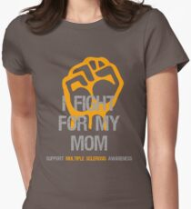 I Fight Multiple Sclerosis MS Awareness - Mom Women's Fitted T-Shirt