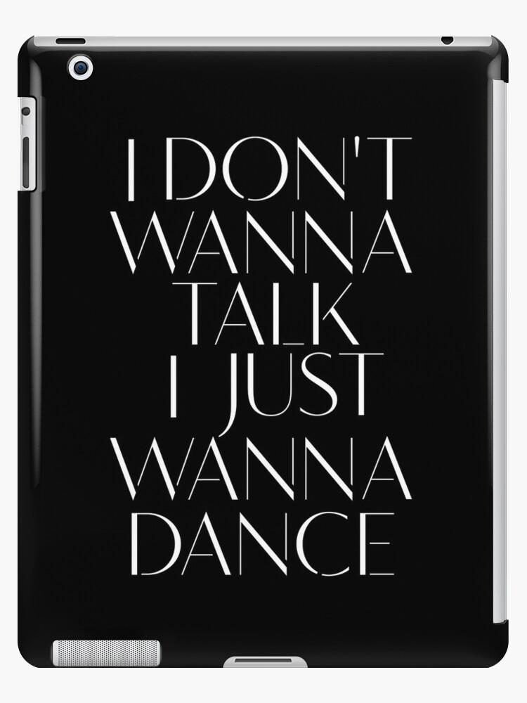 Girls Aloud - I Don't Wanna Talk I Just Wanna Dance - White lyrics by Hrern1313