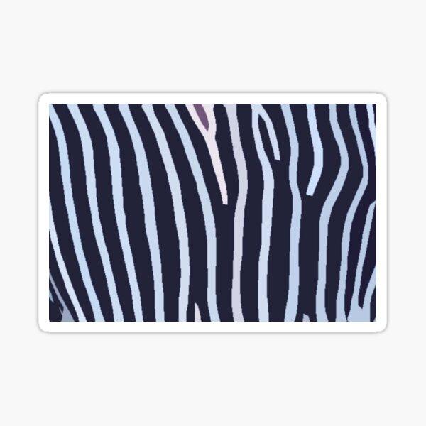 Art Inspired by Nature, Zebra Animal Art, Illustration Sticker