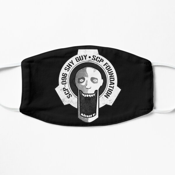 SCP-096 Shy Guy SCP Foundation Flat Mask