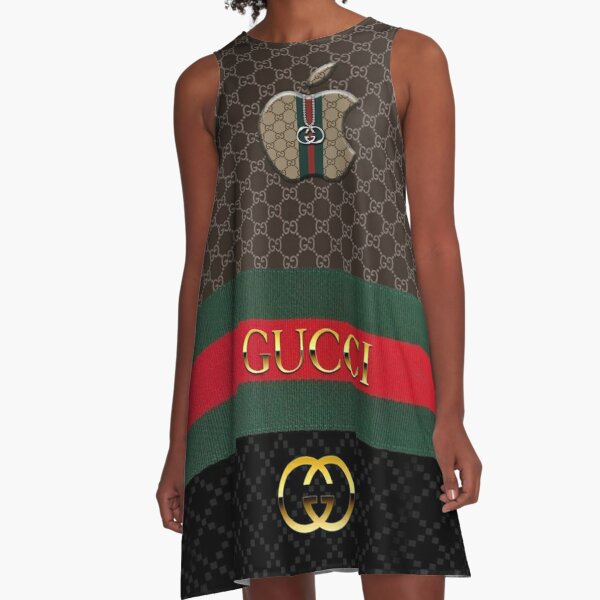 moschino, dolce gabbana, hermes texture, fashion, trending, funny, march, case, m0ncler A-Line Dress