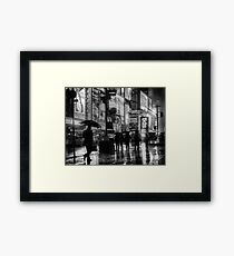 5pm Rush Framed Print